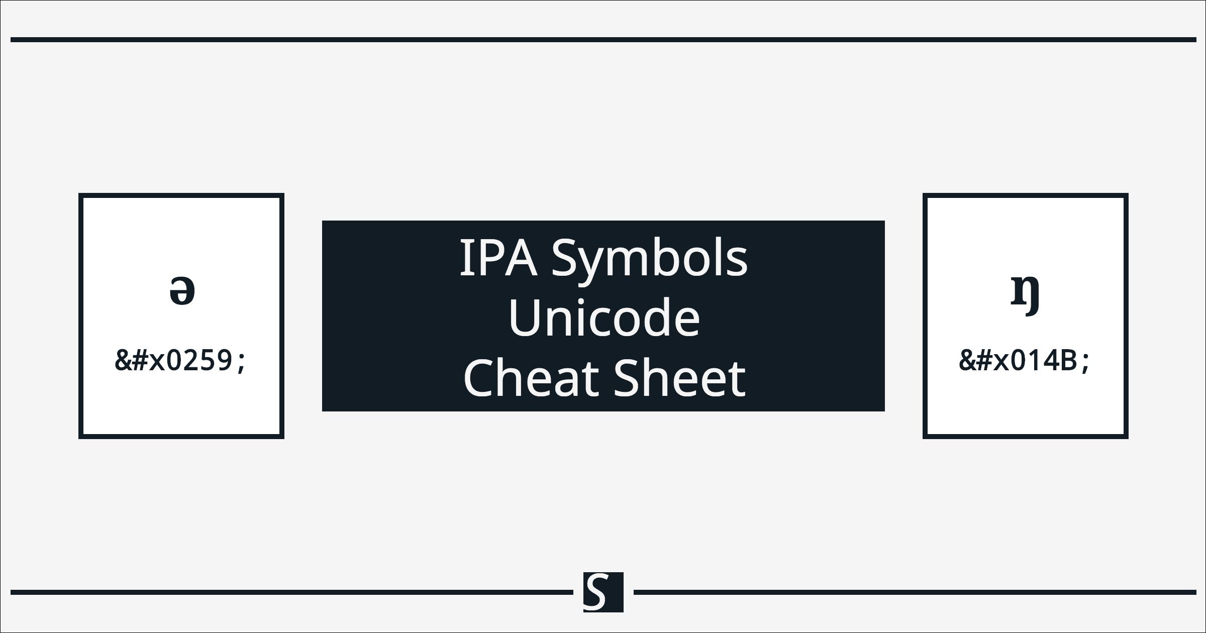 International phonetic alphabet ipa symbols unicode cheat sheet international phonetic alphabet ipa symbols unicode cheat sheet adam steffanick buycottarizona Images